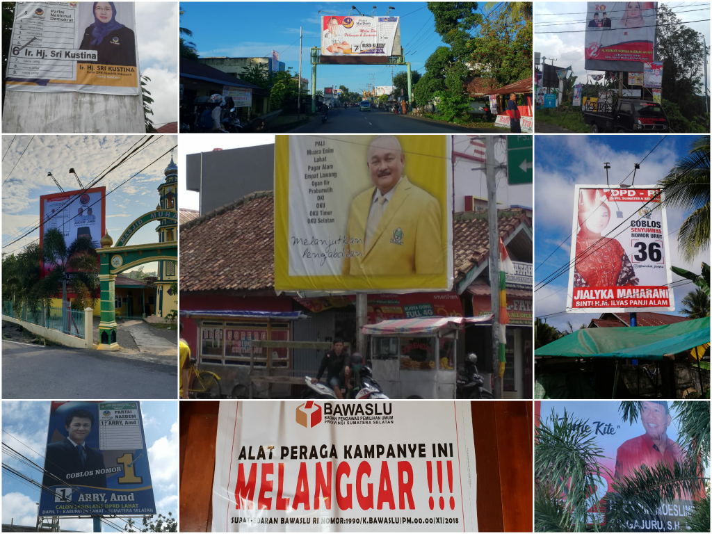 Sriwijaya Online Bawaslu Kab Lahat Baliho Billboard Berbayar Dilarang